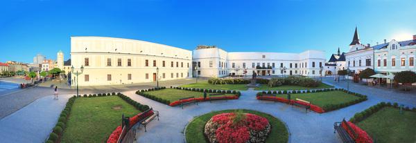 zámek panorama