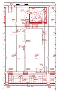 Půdorys bytu pro osoby s omezenou pohyblivostí