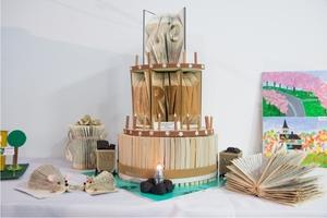 11-Vyhodnocení výtvarné soutěže - oceněný Dort k narozeninám z knih