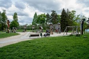 Dětský koutek v parku Boženy Němcové, foto Marek Běhan