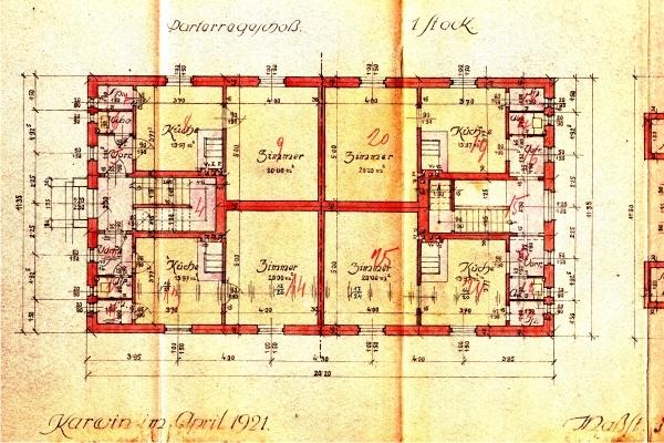 1921_–_plán_půdorysu_domu_z_kolonie_Jindřichův_dvůr.jpg