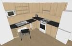 Kuchyň pro osoby s omezenou pohyblivostí